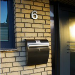 Reisebüro Andreas Steif, Eingang