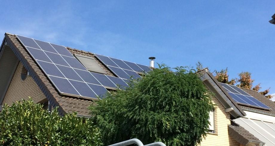 Reisebüro Andreas Steif, Photovoltaikanlage