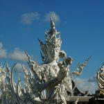 Thailand, weißer Tempel, Wat Rong Khun