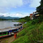 Laos, Mekong, Langboote