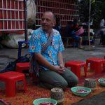 Laos, Tempel, Mönchsspeisung, Andreas Steif