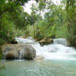 Laos, Wasserfälle, Kuang Si