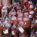 Laos, Nightmarket, Nachtmarkt, Basar, Gewürze