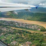Kambodscha, Flugzeug, Mekong