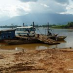Kambodscha, Fähre, Bus
