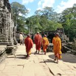Kambodscha, Angkor Wat, Mönche