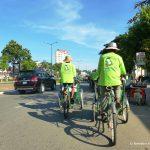Kambodscha, Fahrrad, Rikscha