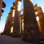 Ägypten, Tempel, Karnak, Säulen