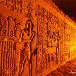 Ägypten, Nilkreuzfahrt, Tempel, Relief, Kom Ombo