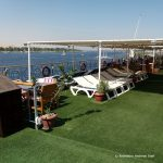 Ägypten, Nilkreuzfahrt, Schiff, Sonnendeck
