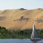 Ägypten, Nilkreuzfahrt, Felukke