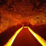 Ägypten, Abu Simbel, Grabmalerei